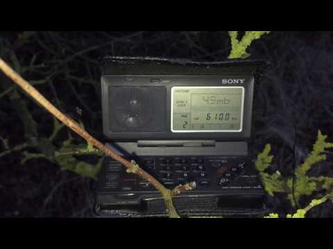 Sony ICF-SW100, Radio Afghanistan 6100 kHz, Kabul, first reception