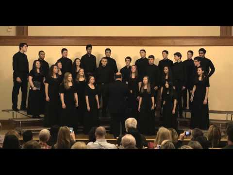 Shady Side Academy Senior School Chamber Choir: I Love the Winter Weather