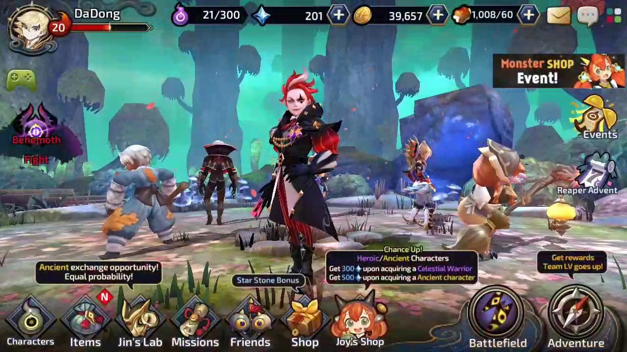 Yokai saga free draw. Battle 10-10 (easy)