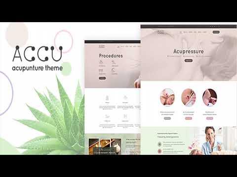 Accu - Acupuncture, Alternative Medicine Theme   Themeforest Website Templates and Themes