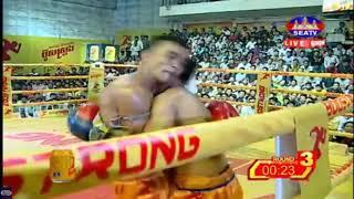 Morn Samet (Cambodai) Vs (Thai) Phon Sovatt, SeaTV Boxing, 27/May/2018 | Khmer Boxing Highlights