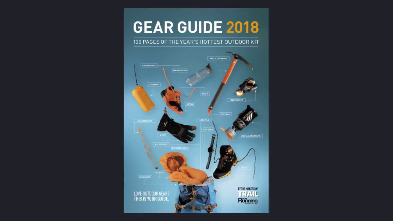 trail magazine gear guide 2018 preview youtube rh youtube com trail magazine gear guide 2016 Guide Gear Ultimate Cooler