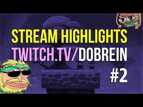 Brawlhalla - Dobrein Stream Highlights #2