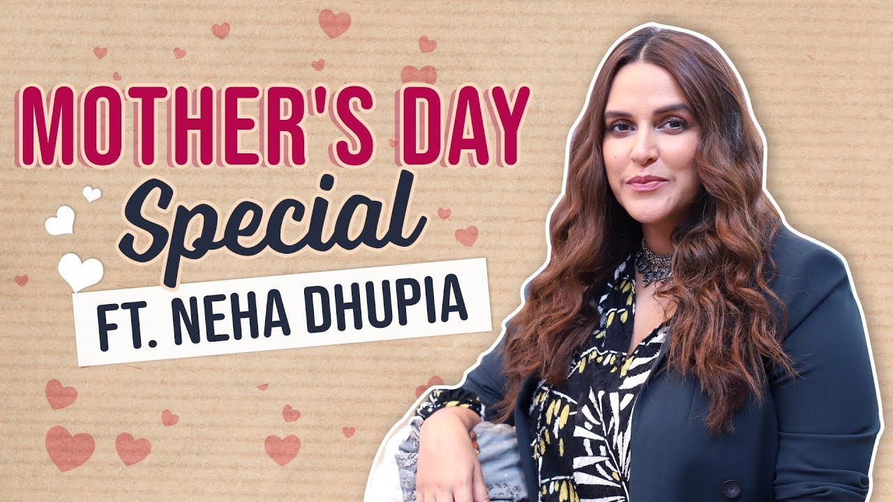 Neha Dhupia says, 'Holding Mehr in my arms was the best feeling ever' | Mother's Day Special