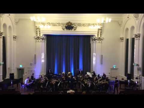 Collision Theory - University of Salford Brass Band conducted by Tom Davoren