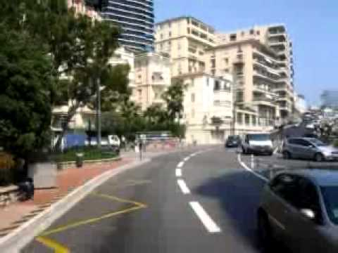 Monaco - leaving by Bus to Nice