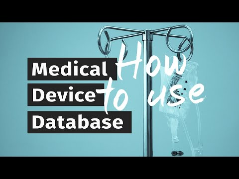 How To Use The International Medical Device Database | Implant FIles