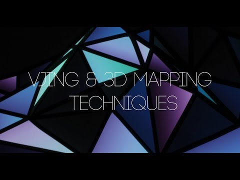 Vjing and 3D Mapping Techniques Workshop Presentation