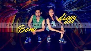 Bom Diggy Dance Choreography by Parthraj Parmar | Zack Knight | Jasmin Walia