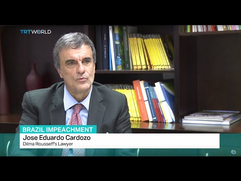 Interview with Dilma Rousseff's lawyer Jose Eduardo Cardozo about the impeachment trial