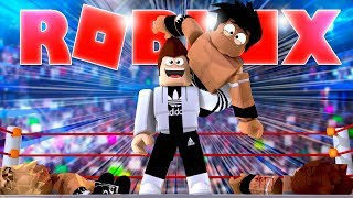 ROBLOX WRESTLING SIMULATOR *THE STRONGEST TO BE*