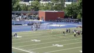 track and field grade 8 boys 4x100m relay heat 1 city championship 2011