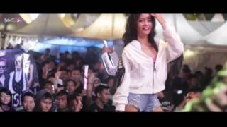 DIVISION Dj delizious Devina Dj amelly latisha dan Putri Zahirah on stage Banten indie clothing