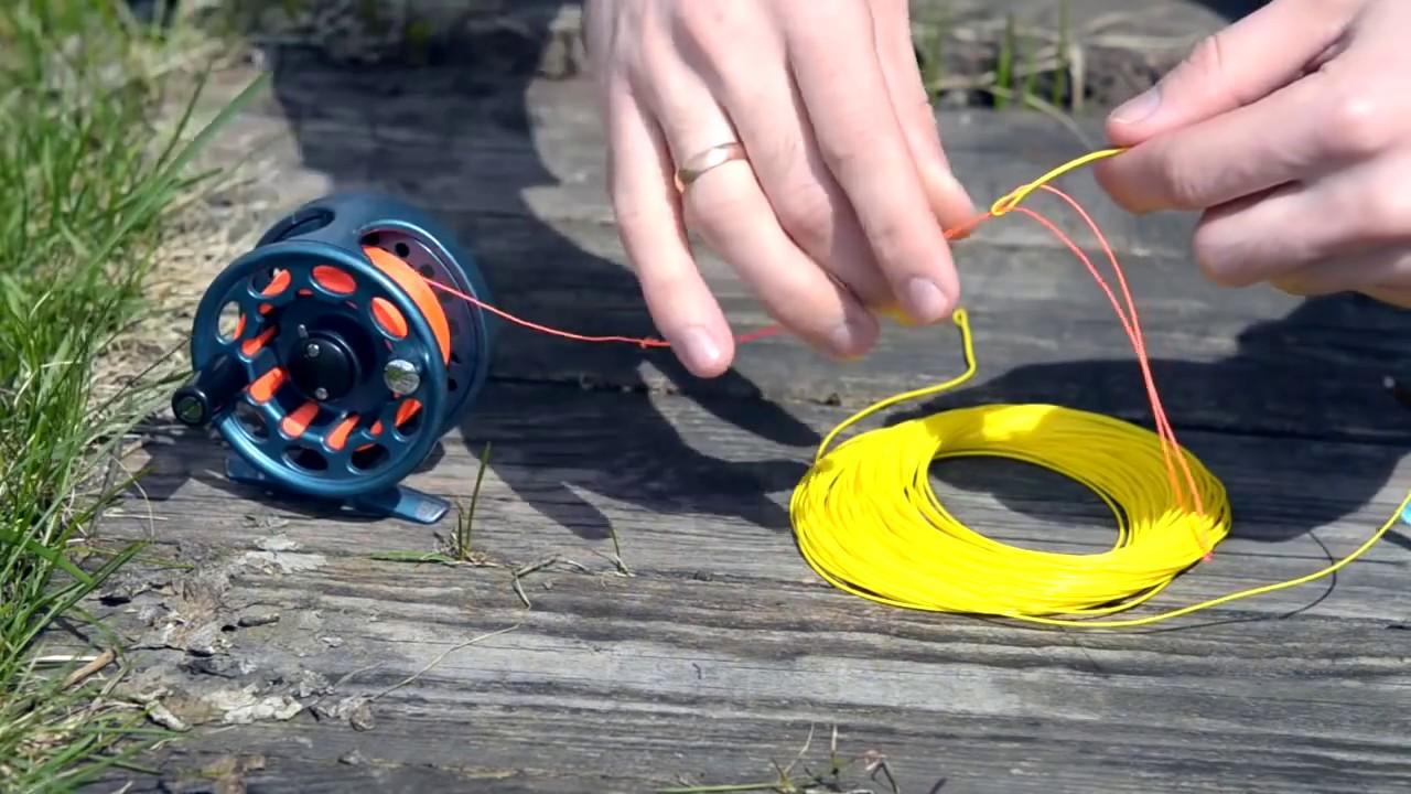 как сделать шнур нахлыстовый своими руками