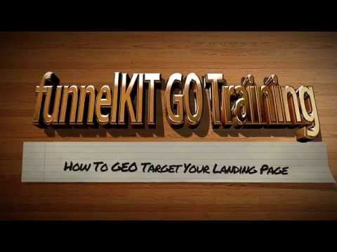 How To GEO Target Your Website Visitors With funnelKIT GO
