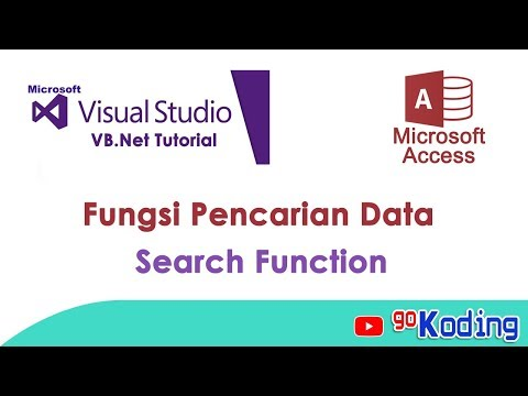 """Belajar Visual Basic : """"Membuat Fungsi Pencarian"""""""