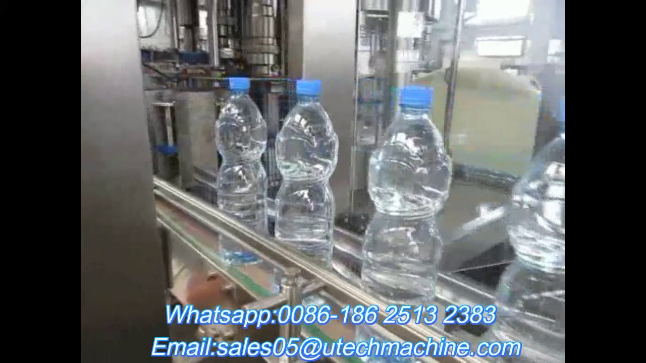 Hot sell small bottle complete drinking water filling machine price