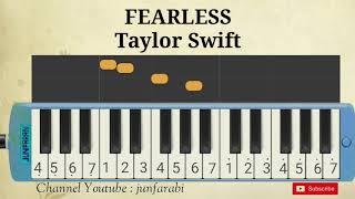 not pianika fearless taylor swift melodika