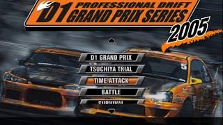 D1GP Professional Drift Grand Prix PS2 golden oldie japanese version Drifting Loving It