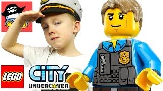 🚓  Lego City Undercover #4 Курс на Альбатрос Жестянка Lego gta