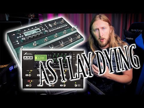 FAQ108 - AS I LAY DYING, KEMPER VS  AX8, WHAMMY,