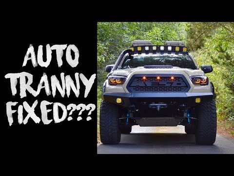 Toyota FINALLY FIXES 3RD GEN Tacoma Transmission PROBLEMS !!! Taco 'Bout It Episode 5