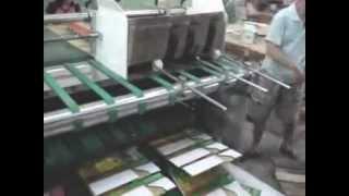 Фальцевально-склеивающая машина Smart 2000(Полуавтоматическая фальцевально-склеивающая машина Smart 2000 - это оборудование, собравшее в себе все новые..., 2012-03-05T09:27:14.000Z)