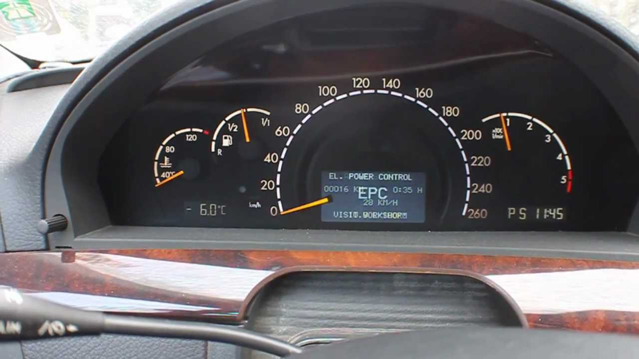 Mercedes S400 Cdi V8 Cold Start At 8 Celsius Youtube