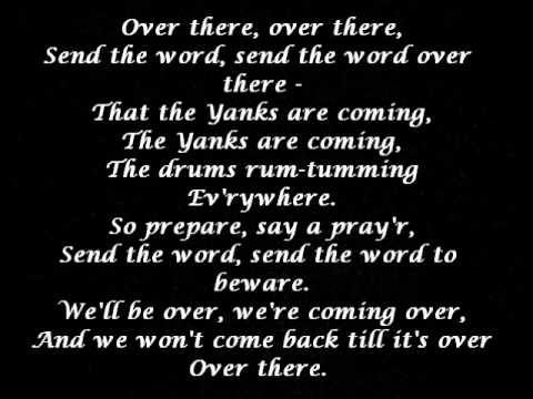 over there with lyrics