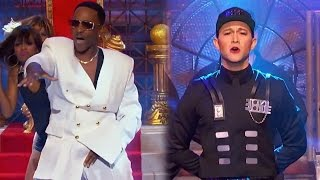 Joseph Gordon-Levitt, Seth Rogen & Anthony Mackie Holiday Lip Sync Battle Recap