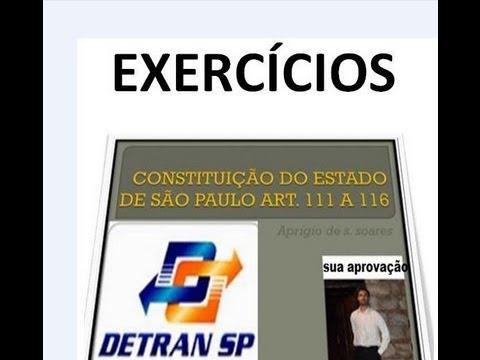 EXERCÍCIOS: CONSTITUIÇÃO DO ESTADO DE SÃO PAULO    1