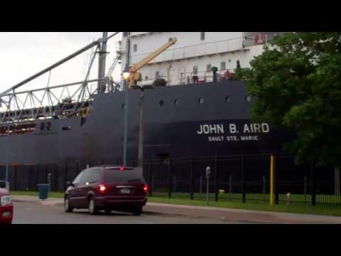 John B. Aird Upbound To Marquette