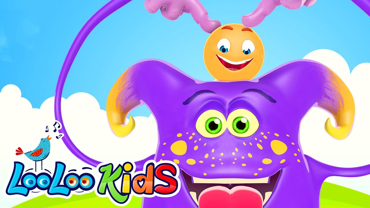 Head, Shoulders, Knees and Toes - THE BEST Songs for Children   LooLoo Kids