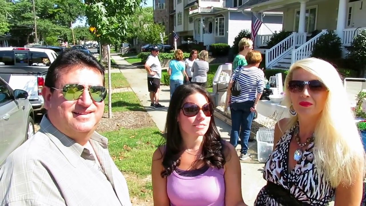 Tottenville Staten Island's Annual Yard Sale - YouTube