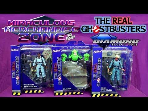 MMZ: Real Ghostbusters (Diamond Select) Egon, Winston & Slimer
