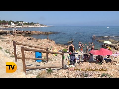 Dénia instalará pasarelas para discapacitados en la Punta Negra