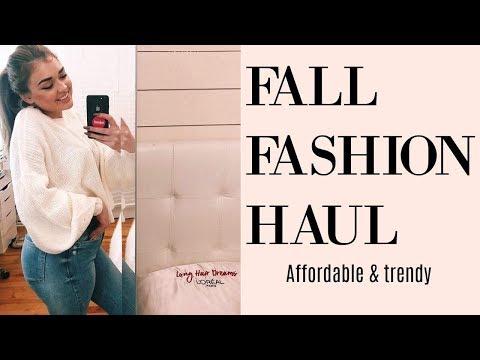 FALL CLOTHING TRY ON HAUL 2018: URBAN PLANET & ZARA | Chloe Zadori