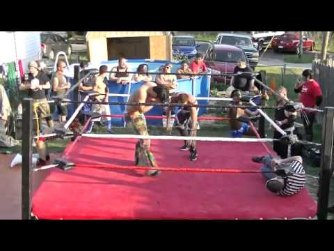 JT Roberts Memorial Show : The Exiled vs Team Xstatic