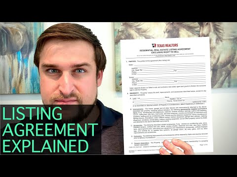 How to Fill Out a Listing Agreement [Texas]