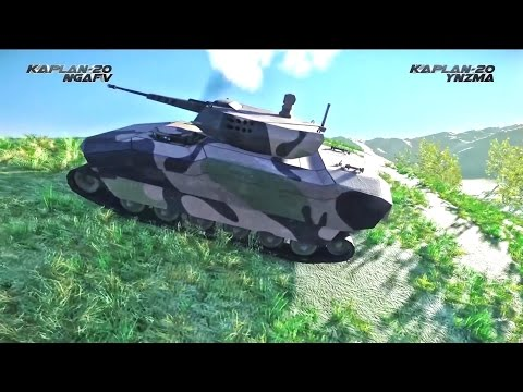 FNSS - Kaplan 20 New Generation Tracked Armoured Fighting Vehicle Simulation [1080p]