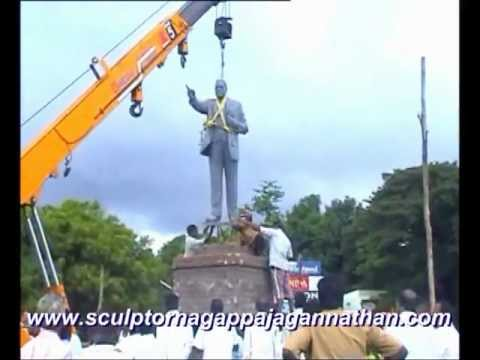 Erection of Dr.B.R.Ambedkar Bronze Statue at Neyveli
