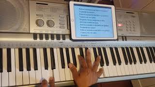 Entra en la presencia del Señor tutorial piano.da gloria y honra y alabanza al Señor tutorial piano