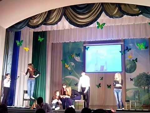 День Театра 2014. Старшая группа. Сценка.