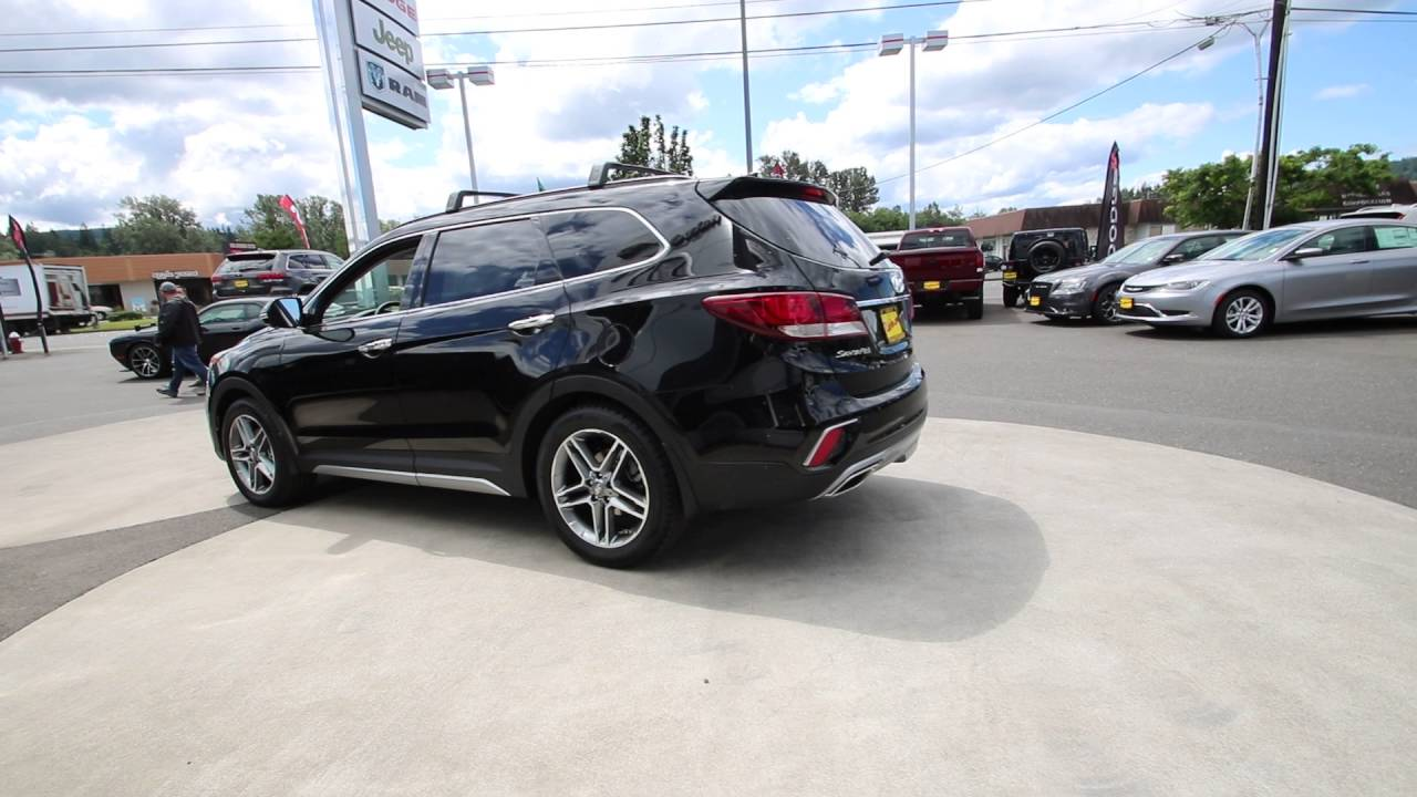 2017 Hyundai Santa Fe Limited Ultimate Becketts Black