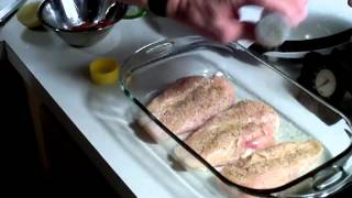 Baked Lemon Pepper Chicken Breast - My Way - Part 1