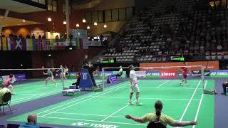 Yonex Dutch Open 2017 MS Quarterfinal - Kento Momota (桃田賢斗) vs Hans-Kristian Vittinghus