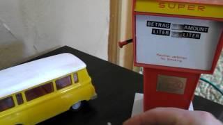 Minol Tankstelle DDR Tangermünde Barkas B1000