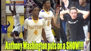 Anthony Washington puts on a SHOW!! Madison East blows out Middleton!!! FULL GAME HIGHLIGHTS