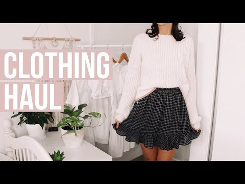 AUSTRALIAN CLOTHING HAUL | POPCHERRY