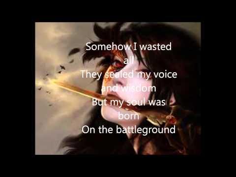 kamelot my confession lyrics instrumental (no voice)